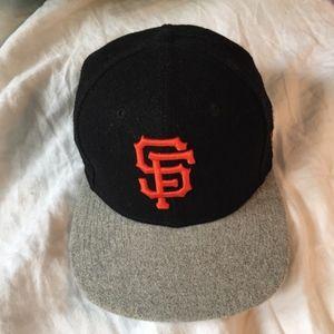 Official MLB SF Giants Flat Brim Hat